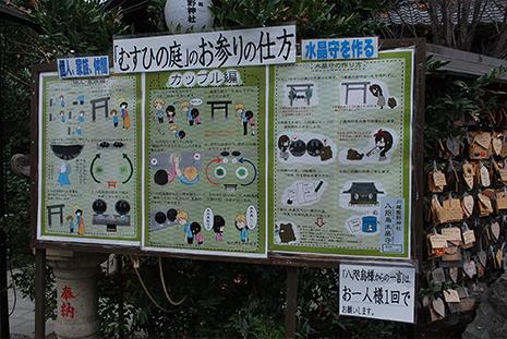 川越熊野神社 むすびの庭 お参りの仕方