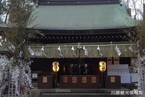 川越氷川神社 本殿