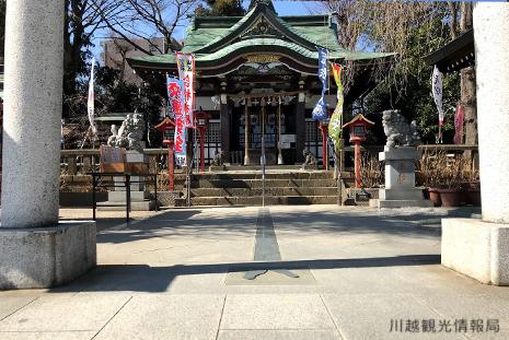 川越八幡宮 社